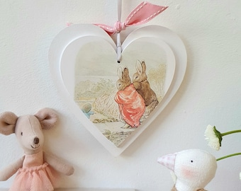 Beatrix Potter Heart.. ref 6.. ready to dispatch