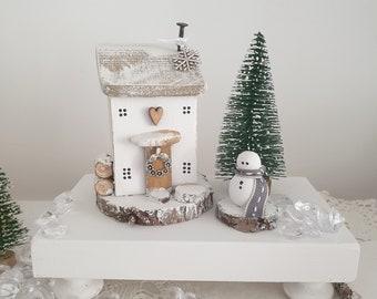 Snowdrop Cottage .. winter Christmas .. 4-5 week dispatch