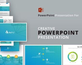 creative powerpoint presentation etsy