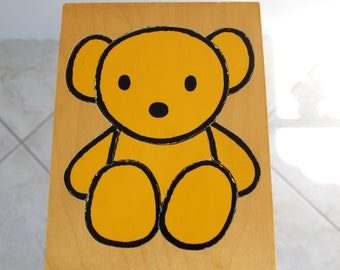 Wooden puzzle by Dick Bruna