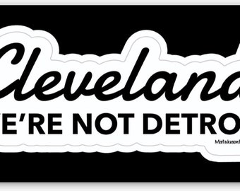 We're not Detroit Sticker