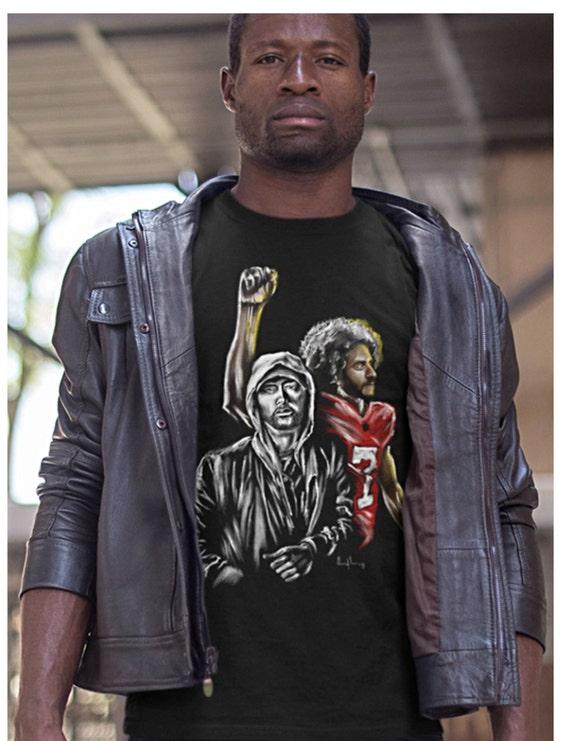 Colin Kaepernick Shirt We March Yall Mad Kap Tshirt