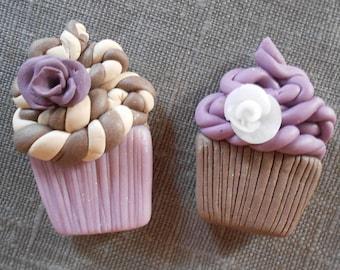 "MAGNETS... Set of 10 magnets theme ""sweet violet"""