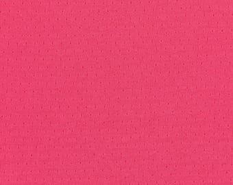 Plain FRANCE DUVAL-STALLA Peony pink Jersey fabric