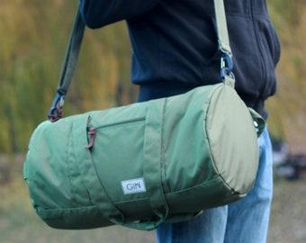 Duffle bag backpack, Weekender bag, Gym bag, yoga bag, sports bag, weekend  overnight bag, duffel bag men, mens gift, gifts for boyfriend befb899d58