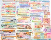 Collection of 100 Different World Mixed Foreign Banknotes Currency Paper Money UNC FREE SHIPPING