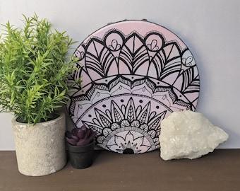 Canvas Mandala Painting