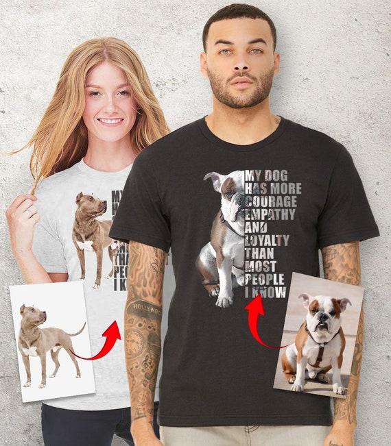 be9c68a03 Custom dog shirt personalized dog gifts dog dad t-shirt | Etsy