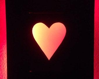 Heart - Bright Frame