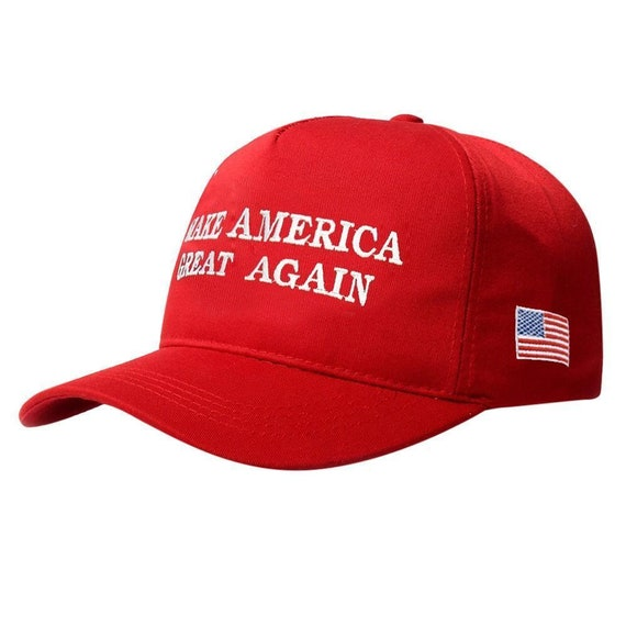 Trump 2020 President Make America Great Again Baseball Cap Hat Black Trendy