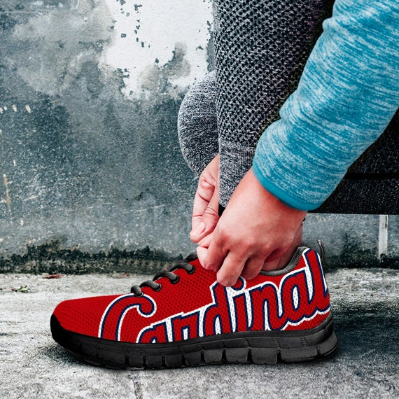 Fan Sneakers Cardinals fan Unofficial Mens Shoes collector Baseball Sizes Custom St Louis Black Trainers Kids gift Ladies qtSUBB