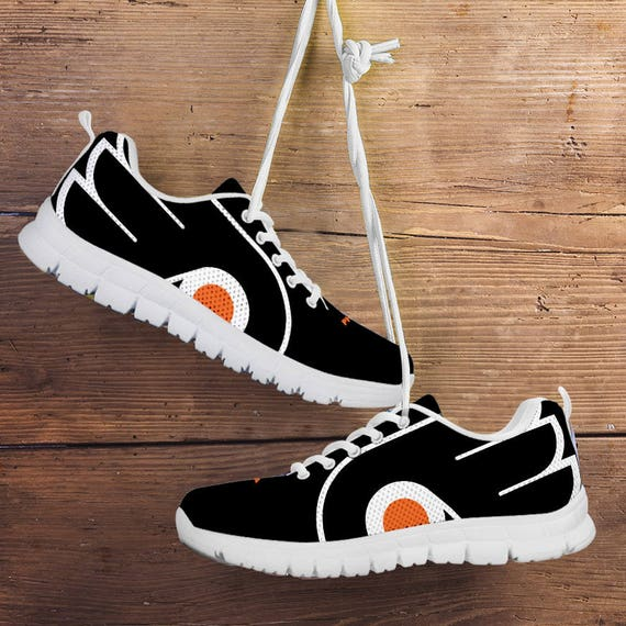 Unofficial collector Ladies Mens Philadelphia Kids Sizes gift Flyers Fan Custom fan Trainers Shoes Sneakers 77tHAyqw