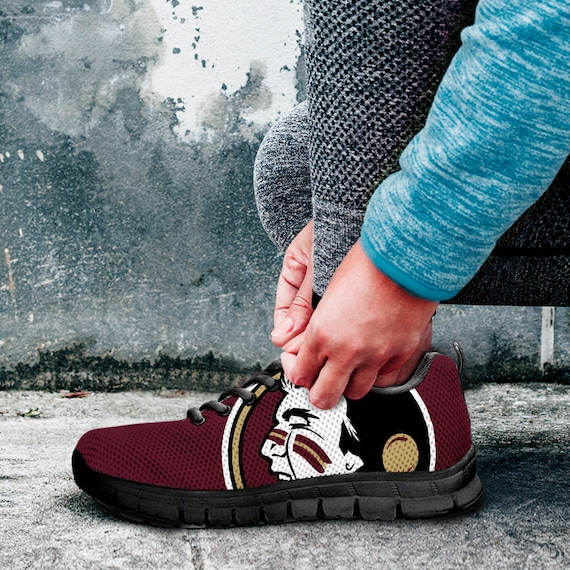 Kids Running Florida Sizes Sneakers Trainers Ladies Fan Black Custom gift Noles collector Shoes Unofficial Mens qSPCwIS