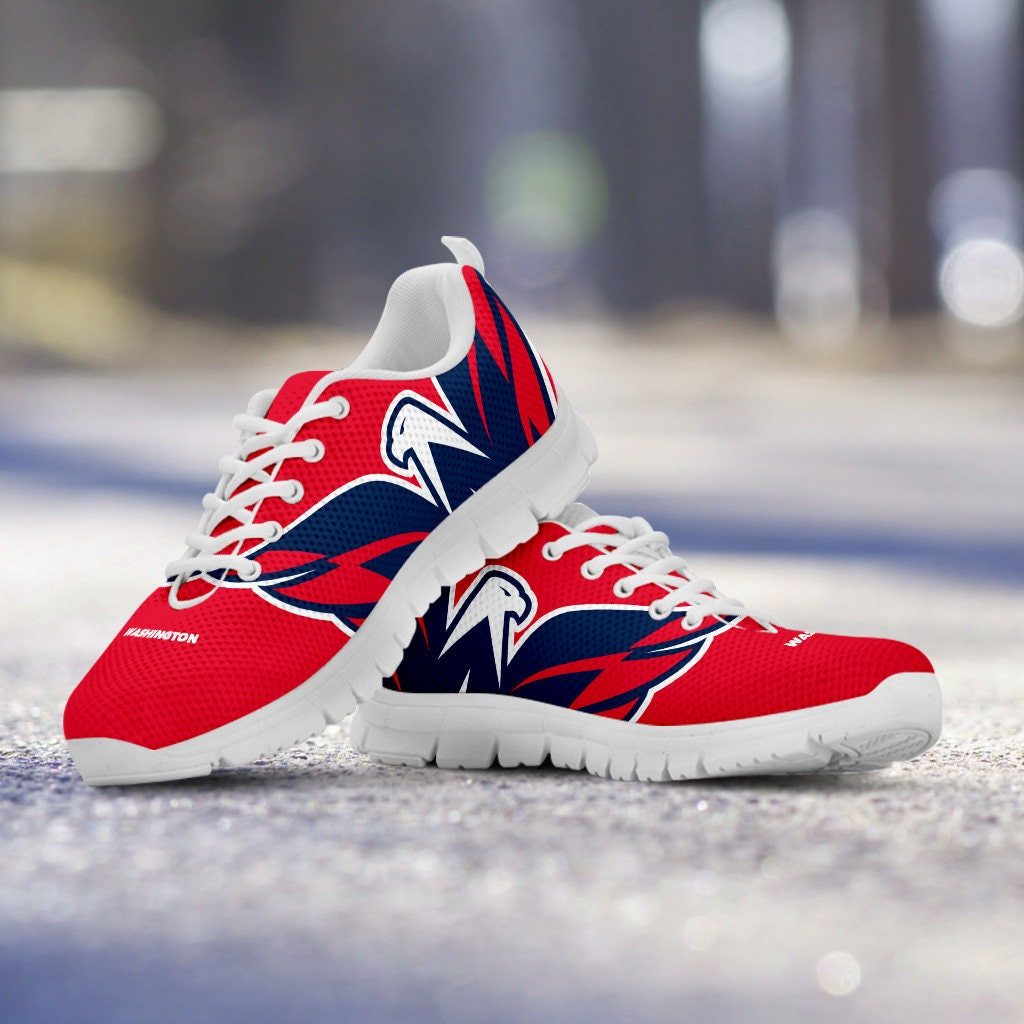 Washington Capitals Fan Custom Unofficial Running Shoes/Sneakers/Trainers - Ladies, gift Mens, Kids Sizes, collector, gift Ladies, 530fd5