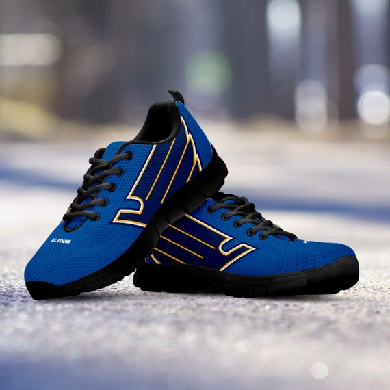 Running Ladies Mens Black Trainers Kids Fan Blues gift St Custom Shoes Louis Sneakers collector Unofficial Sizes nCUvxwYq