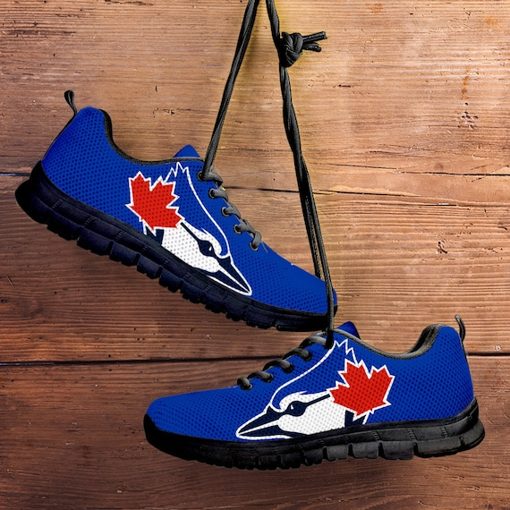Unofficial Mens Toronto collector Custom gift Sneakers Kids Black Trainers Jays Fan Blue Shoes Ladies Sizes ARrTqAHv