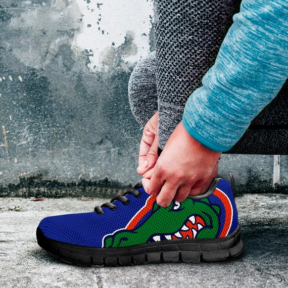 Unofficial Trainers Gators gift Shoes Blue Fan Mens Custom collector Black Ladies fan Sizes Sneakers Florida Kids 81ZEwqdx8