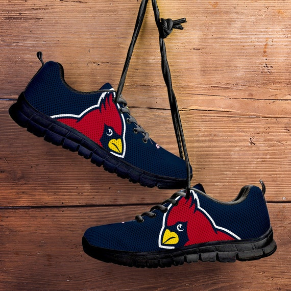 Ladies Cardinals with gift Kids Sneakers Shoes collector Sizes St Black Unofficial fan Louis Trainers Fan Sole Navy Mens gnq5fHP5S