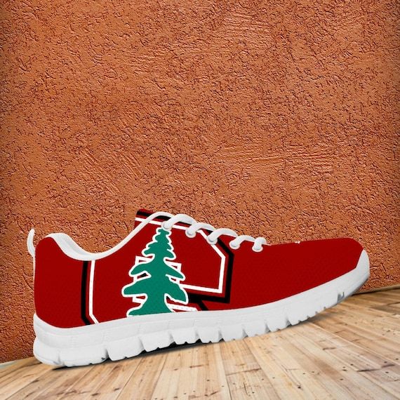 Fan Stanford Sneakers Cardinal gift Custom Ladies Trainers Football Shoes Unofficial Mens Sizes qBEBUCw