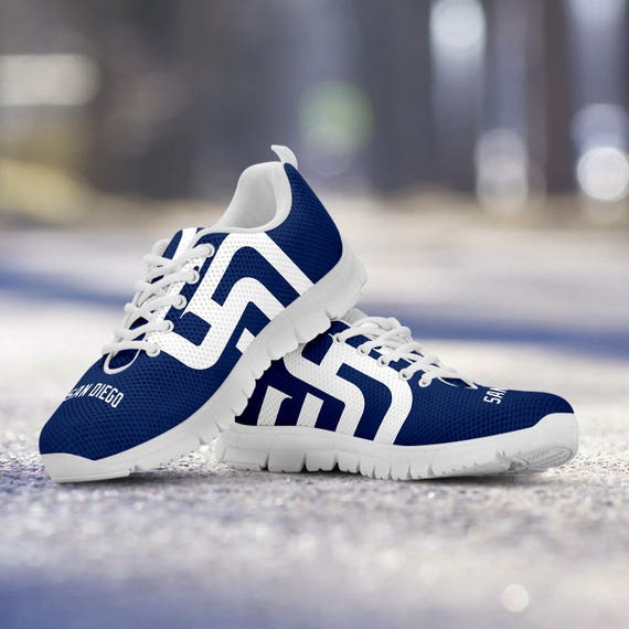 Baseball Ladies Diego Sizes Sneakers San Trainers Padres White Mens Fan Shoes Unofficial Custom gnqFvwx