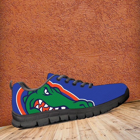 Sizes Gators gift Black Mens Blue Florida Unofficial Fan Custom Kids Ladies fan collector Sneakers Shoes Trainers 7qSZdS