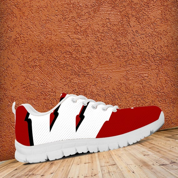 Trainers Fan Badgers Unofficial Football Shoes Sneakers Wisconsin Custom Mens Sizes Ladies qfTaWg