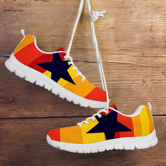 Sneakers Custom Retro Unofficial Trainers Kids Star gift Astros Mens Sizes White Houston Fan Shoes Ladies Stripe wgzq4n
