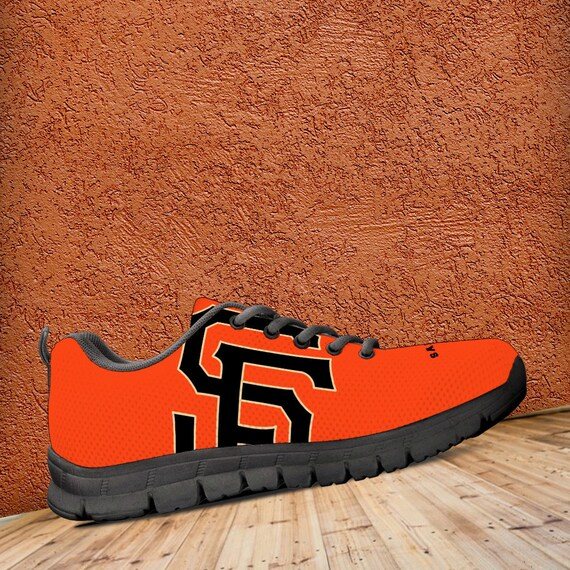Ladies Sole Running Unofficial San Orange Trainers Shoes Kids Francisco Giants Custom Fan Sizes Sneakers Mens Black 7R7w8Yq