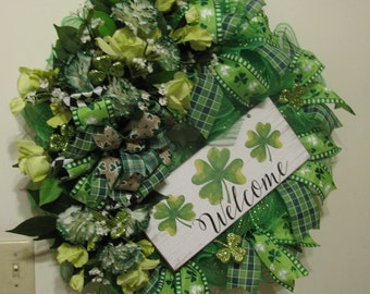 St. Patrick's Day Shamrock Welcome