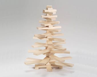 Wooden Christmas Tree Etsy