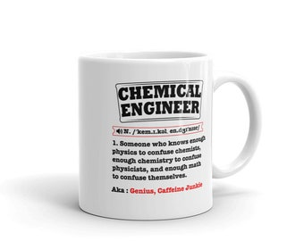 Chemical Engineer Definition Mug