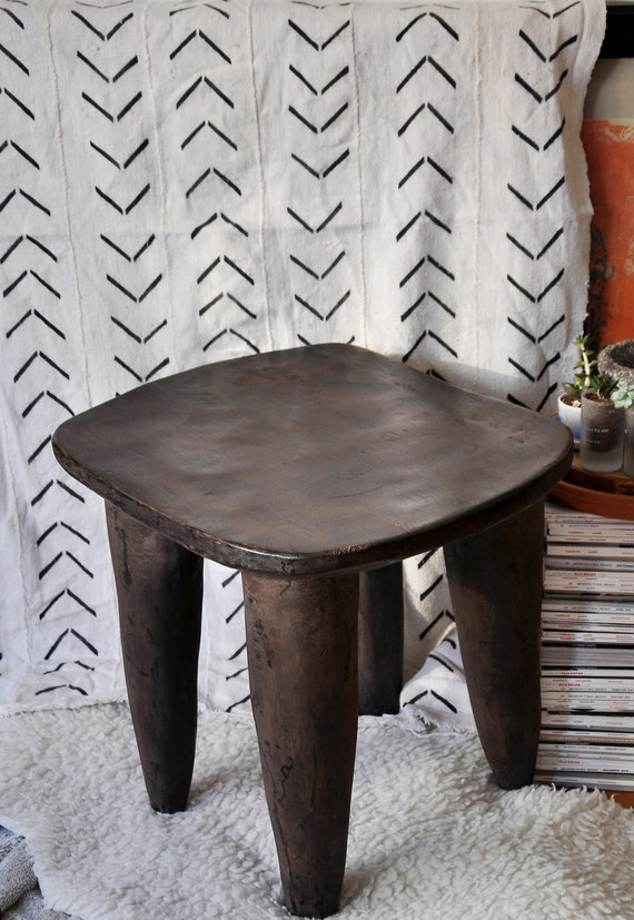 hot sales 8c900 9817a 22 Inch / Side Stool / Side Table / End Table / Senufo Stool / Wooden Bench  / Bench / African Senufo Stool / Vintage Bench / Gift for Mom