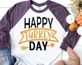 Thanksgiving Svg, Happy Turkey Day Svg, Thanksgiving Svg Files, Thanksgiving Cut Files, Cricut Cut Files Svg Dxf Png Jpeg
