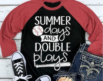 a15a77f0be7 Summer Days and Double Plays Svg Baseball Svg Baseball Mom Svg Baseball  Life Svg Baseball Cut Files Baseball Svg Designs Cricut Cut Files