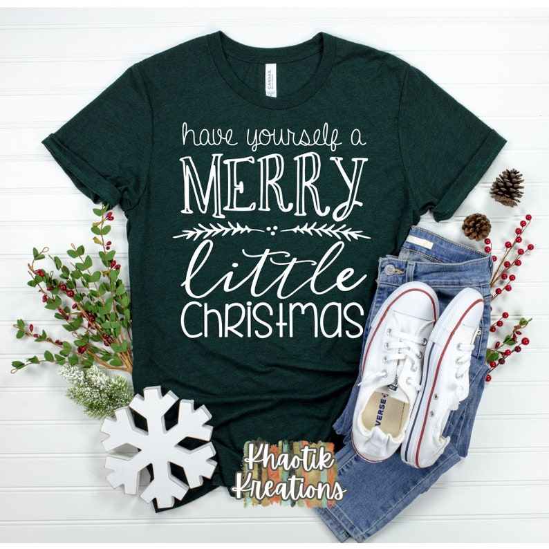 Have yourself a Merry little Christmas Svg Christmas Svg image 0