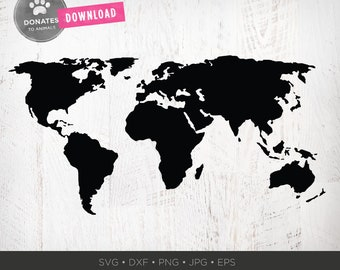 World map download etsy world map svg world svg travel svg world map clipart png cricut svg map dxf map cut file for silhouette continents shape global map svg gumiabroncs Image collections