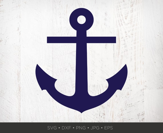 Anchor Svg Anchor Clip Art Anchor Png Nautical Clip Art Etsy