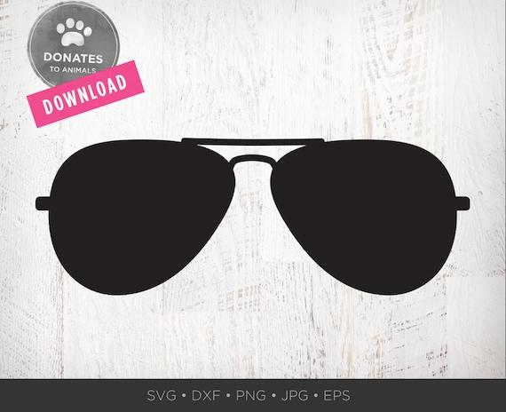64de7b3e49b Aviator sunglasses svg aviators svg sunglasses silhouette etsy. Glasses  Clipart   Sunglasses clipart free ...