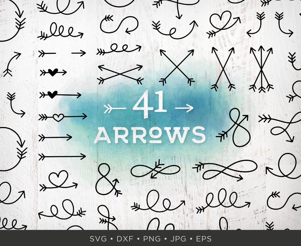 42 Arrow SVG Bundle Arrows Svg Arrow Clipart Arrow Clip ...