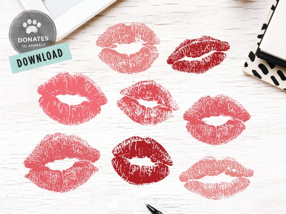 Lips Svg Fashion Lips Svg Lips Cut File Mouth Svg Lips Etsy