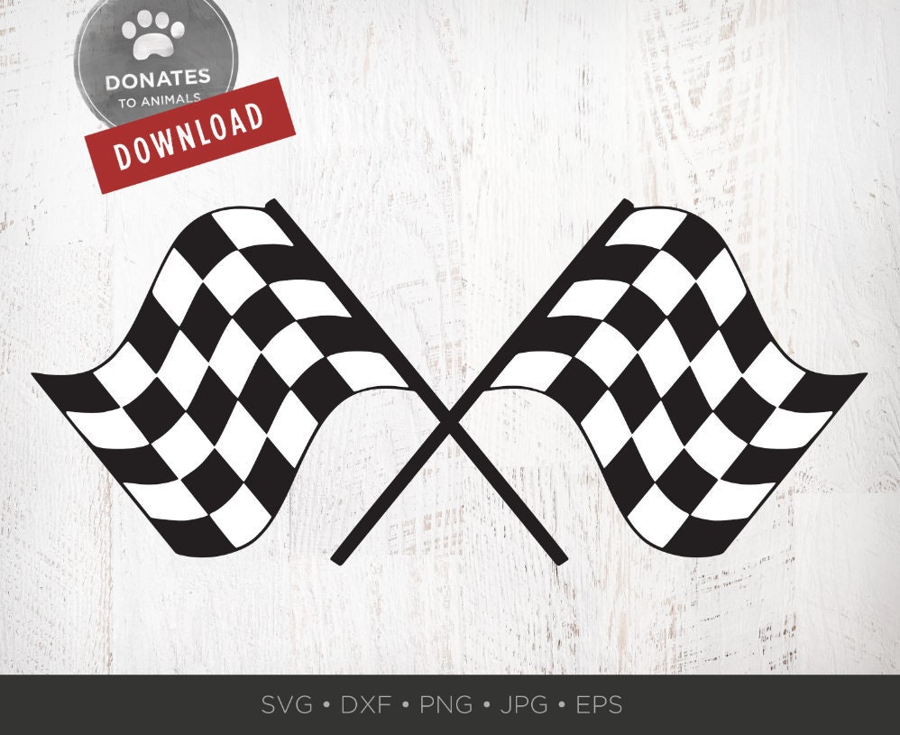 Race Flag Svg Racing Clipart Auto Car Png