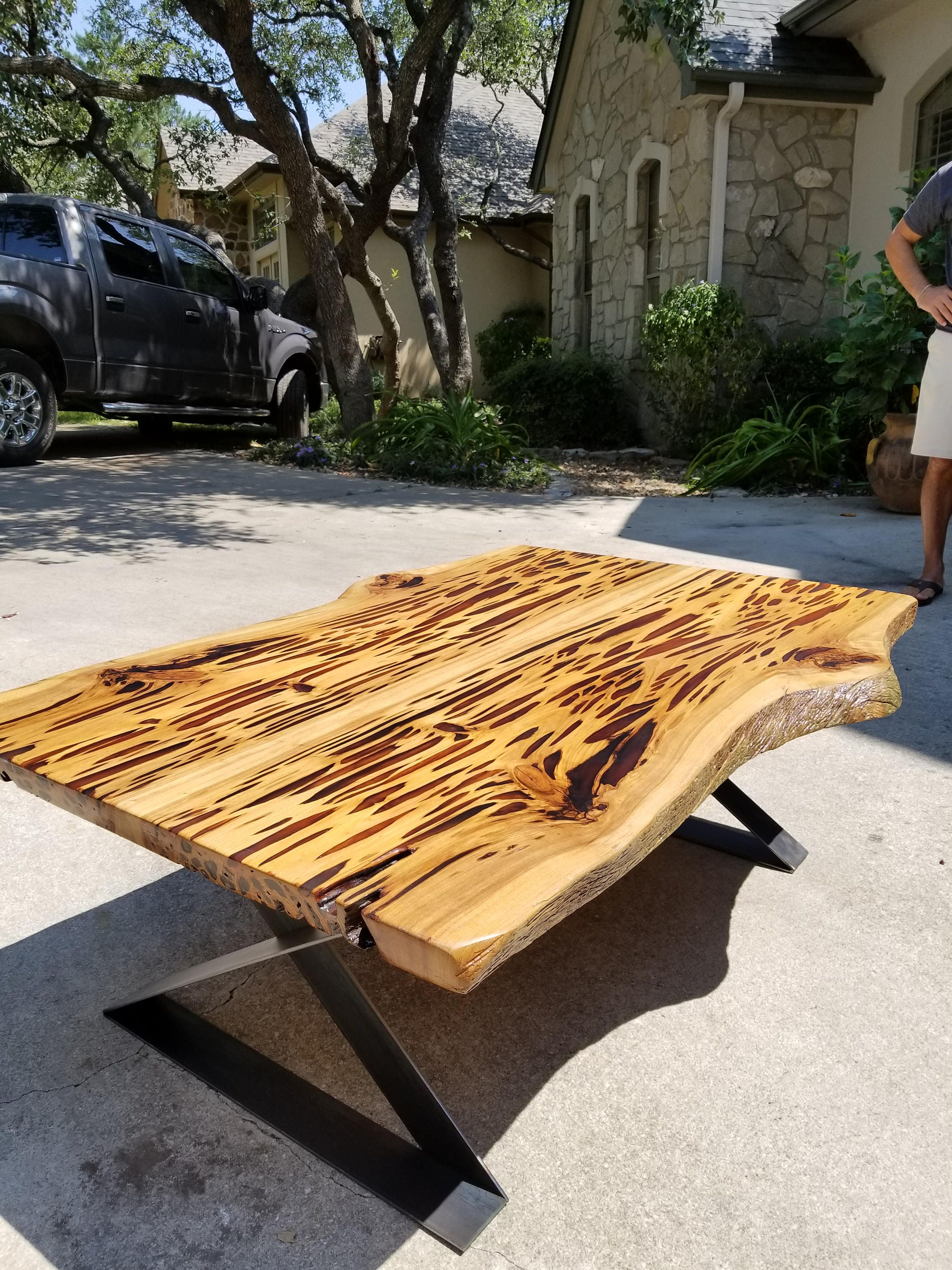Revival Timberworks: cypress table |Artsy Tables Cypress