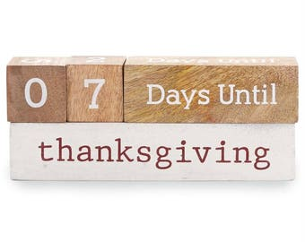 Holiday Countdown Blocks
