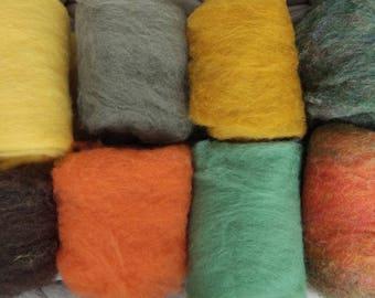 Felting wool roving, merino roving, wet felting wool, needle felting wool, combed top, wool yarn, wool felt, roving for felting or spinning
