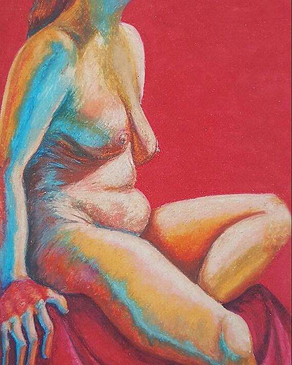 oil-pastel-drawings-nude-teen-homo-sex