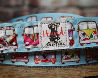 Hippie van dog leash 1 inch dog leash - join the pack