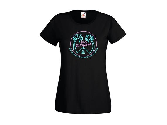 Black Mirror Season 3 Episode 4 San Junipero Heaven Is A Place On Earth T-Shirt