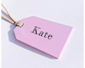 Bag tag/luggage tag/custom luggage tag/custom bag tag/pink/ bubblegum pink accessory/pink accessory/Wedding favour/travel buddy/travel tag