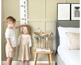 Height chart / measuring chart / children's height ruler / kids measuring ruler / custom height marker / nursery decor / personalised