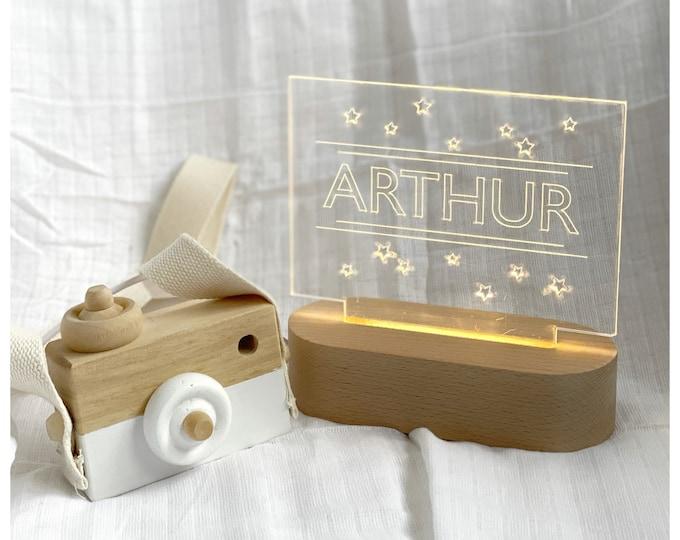 Featured listing image: Custom star night light